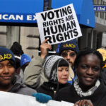 Voting rights march (cc photo: Michael Fleshman)