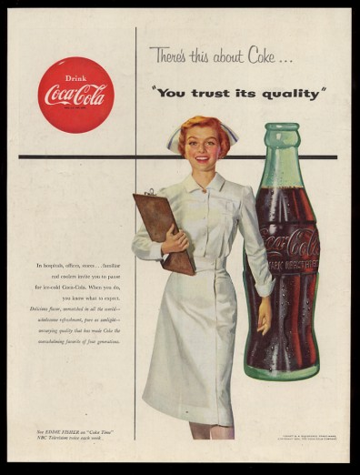 You Trust Its Quality: Vintage Coke Ad