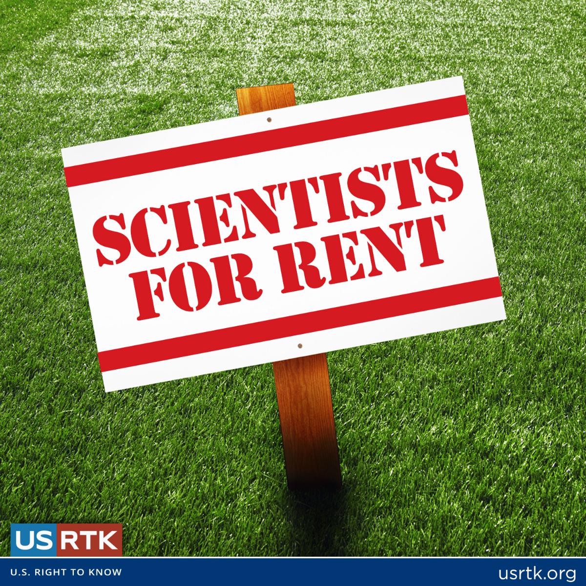 Scientists for Rent: USRTK