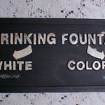 Segregated drinking fountain, Montgomery, Alabama.