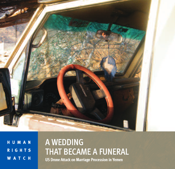 Human Rights Watch: A Wedding That Became a Funeral