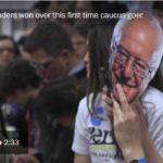 "Washington Post: ""Why Bernie Sanders Won Over This First-Time Caucus Goer"""