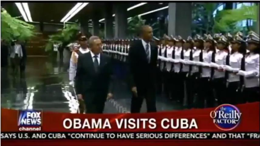 Fox News: Obama Visits Cuba