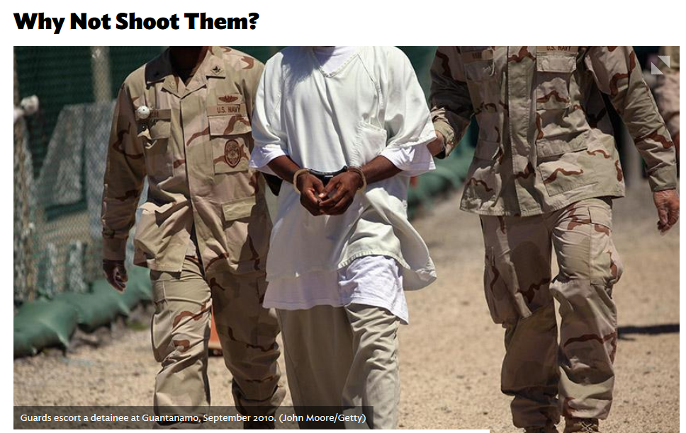 National Review: Why Not Shoot Them?
